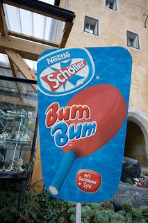 Nestle Scholler Bum Bum ice cream