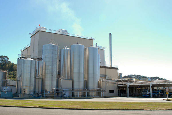 The Pahiatua plant was opened in 1976. Image courtesy of Fonterra Co-Operative Group.