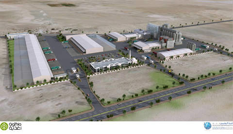 The Al Wathba Complex is being built to ensure long-term food security in the UAE.