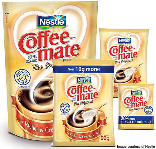 Most of the new plant's production will be Nestle's Coffee-Mate.