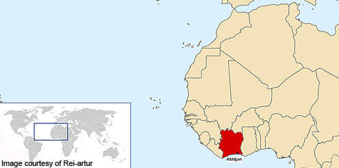 Olam International's new plant is located in Abidjan in The Republic of Cote d'Ivoire of West Africa.