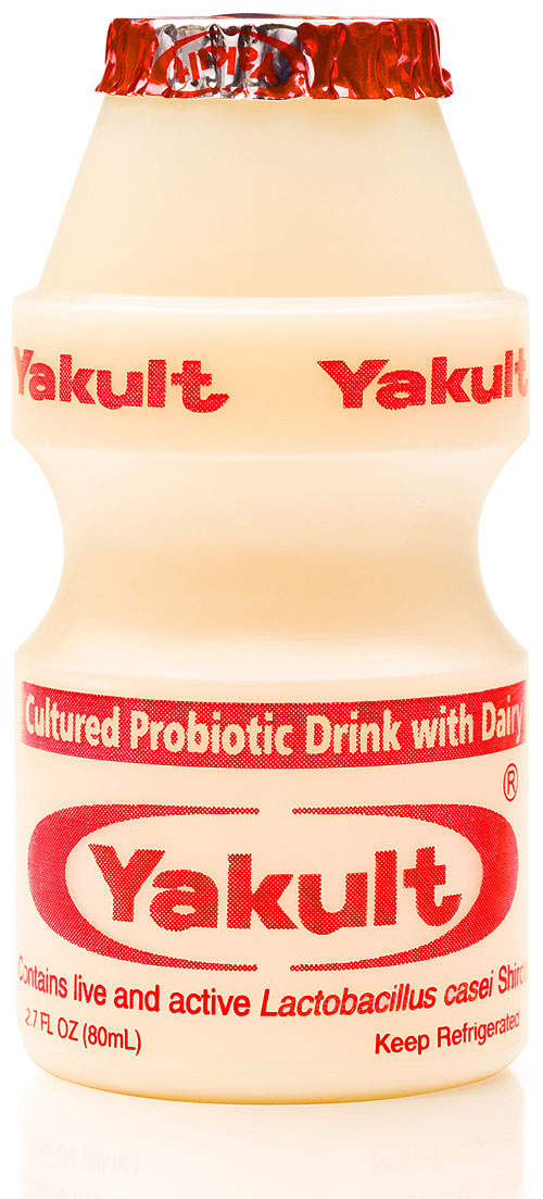 Yakult USA's new plant in California manufactures the company's probiotic drink Yakult.