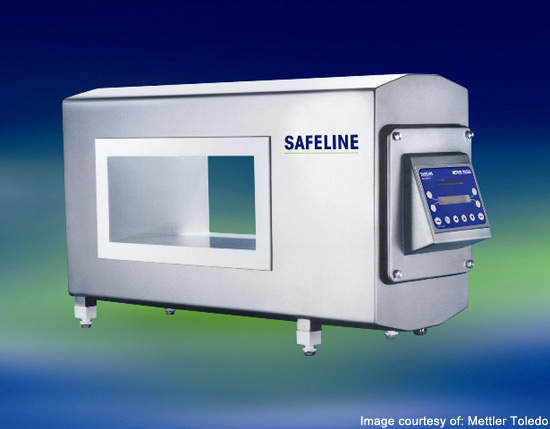 The Safeline (PowerPhase PLUS) metal detector system is used in the Great Kitchens Illinois facility to detect and pinpoint all types of metal contamination in products.