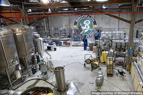 Brooklyn Brewery leased a 13,500ft² unused distribution facility for the brewery expansion.