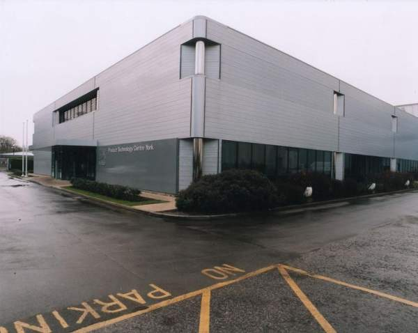Nestlé opened the product technology centre in York in 1991. The centre was built by The Austin Company. Image courtesy of The Austin Company.