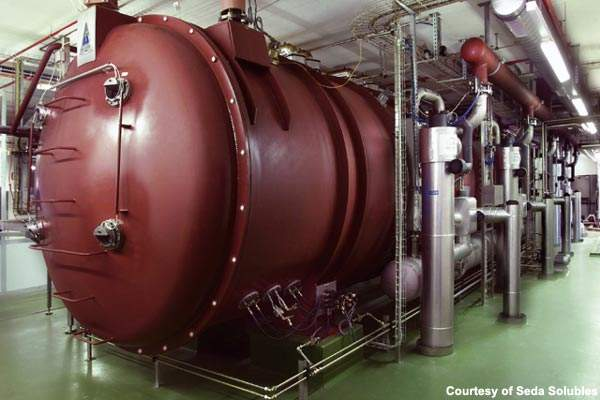 ConRad 500 freeze-drying equipment has been installed at the Seda Solubles facility.