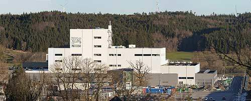 Nestlé's infant formula factory site is located in Biessenhofen, Germany.