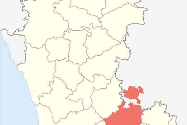 The India Food Park (IFP) is located in Tumkur district of Karnataka, India. Image:  courtesy of PlaneMad.