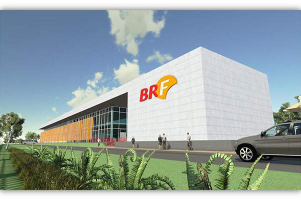 Brasil Foods (BRF) announced the opening of its new facility in Abu Dhabi in November 2014. Image: courtesy of Amana Contracting & Steel Buildings.