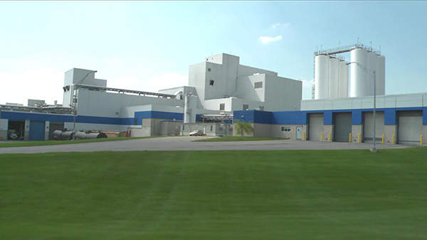 The expanded West Hershey Chocolate factory was officialy opened in September 2012.