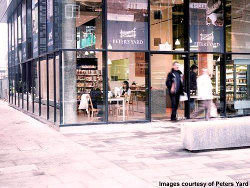 The bakery is on a prime site in the Quartermile development in Edinburgh.