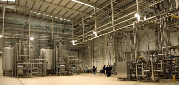 The Zuvamesa juice plant was established by a consortium of 60 of Spain's largest fresh citrus producers. Image courtesy of Tetra Pak.