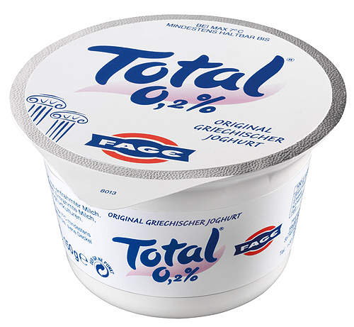 Fage USA's Johnstown plant produces about 85,000t of yogurt per year.