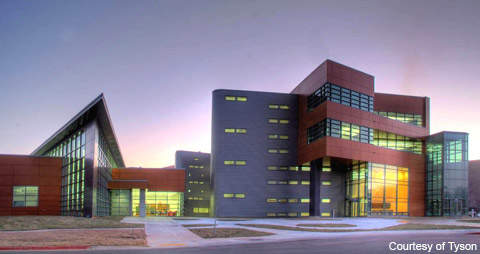 The facility is based in Springdale, Arkansas in the US.
