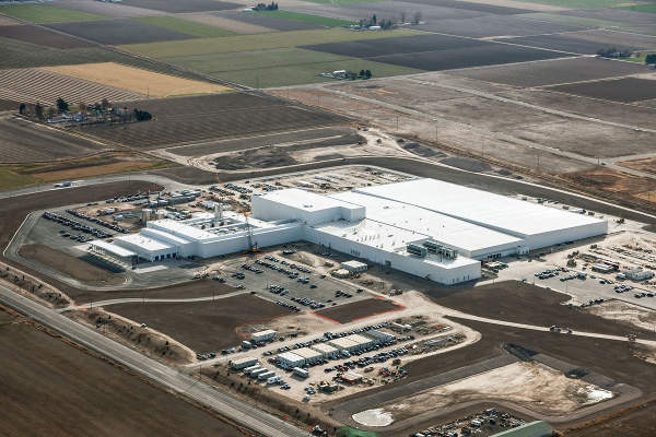 Chobani's Twin Falls facility is the largest yoghurt manufacturing plant in the world.