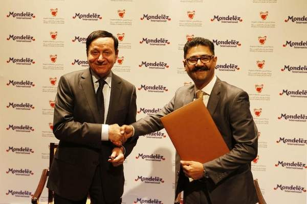 Mondelez International broke ground for the construction of a $90m biscuit plant in Bahrain in January 2015. PRNewsFoto/Mondelez International, Inc.