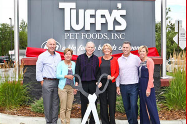 Tuffy's Pet Foods commissioned a new pet food manufacturing plant in Perham, Minnesota, in September 2015. Image courtesy of KLN Family Brands.