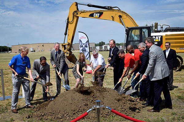 Royal Canin USA started construction on a new pet food manufacturing facility in North Sioux City in June 2016.