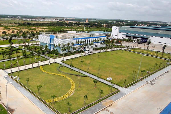 The Vietnam Milk Factory of Vinamilk covers an area of 20ha.