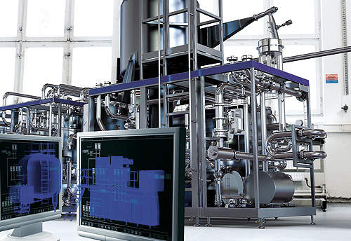 Galaktika Group's Gatchina dairy plant in Russia is equipped with Tetra Pak's Tetra PlantMaster automation system.