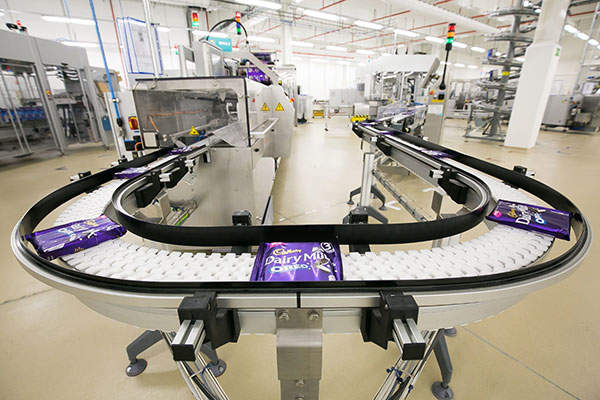 Mondelez International opened a new state-of-art chocolate production line in its Skarbimierz facility in September 2015. Image courtesy of Mondelez International.