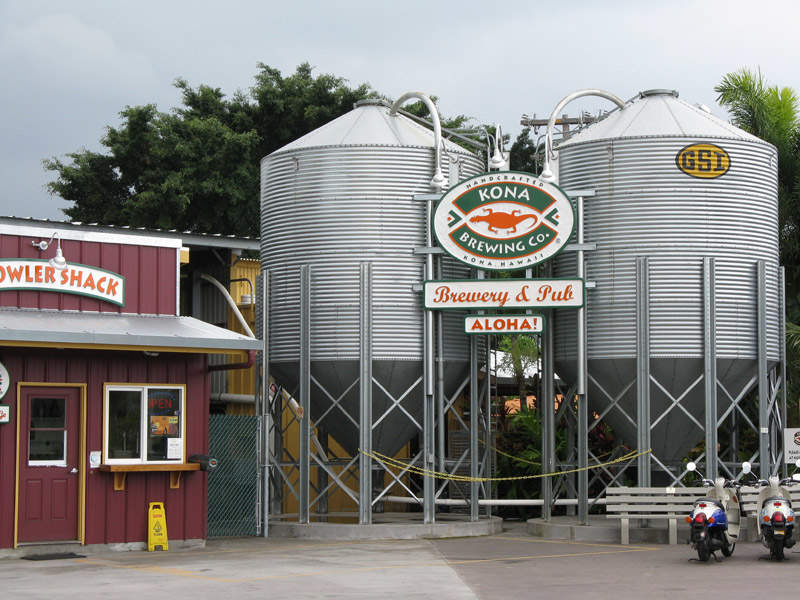 Kona Brewing's new brewery will have a capacity to produce 100,000 barrels a year. Photo: courtesy of Kona Brewing.