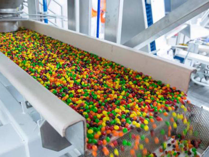 The new Skittles production line at Wrigley's Yorkville plant was commissioned in June 2016. Image courtesy of Gray Construction.