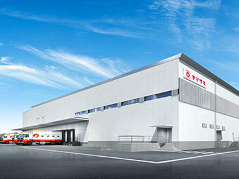 A rendering of Yamazaki Baking's new baking plant to be built in Kobe, Hyogo Prefecture, Japan. Image courtesy of Yamazaki Baking Co., Ltd.