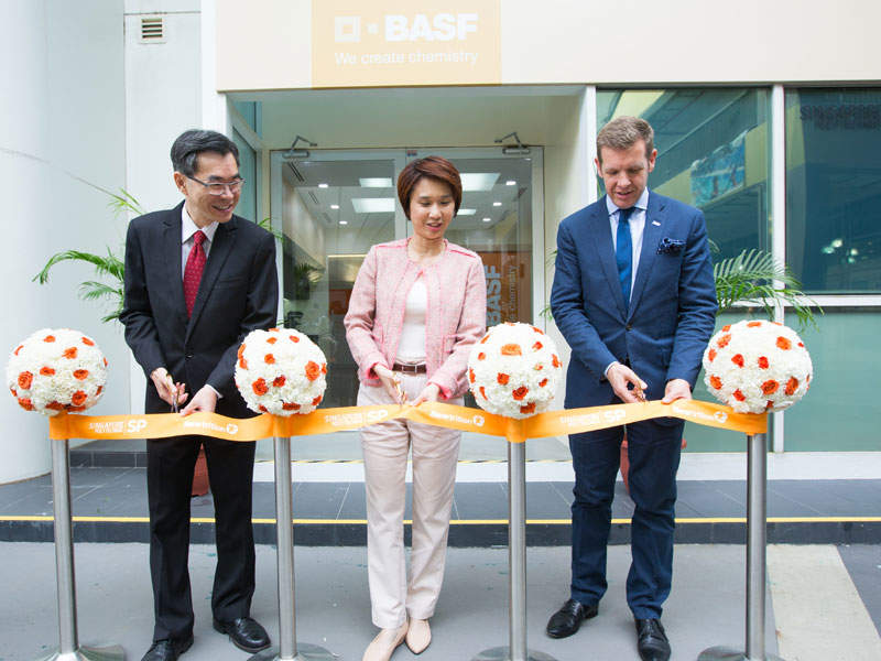The Newtrition lab at Singapore was opened in January 2017. Image courtesy of BASF SE.
