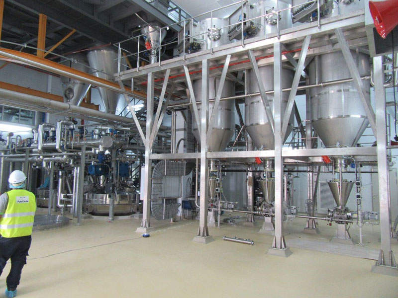 PureCircle completed the expansion of its production plant located in Bandar Enstek, Negeri Sembilan, Malaysia, in March 2017. Credit: PureCircle.