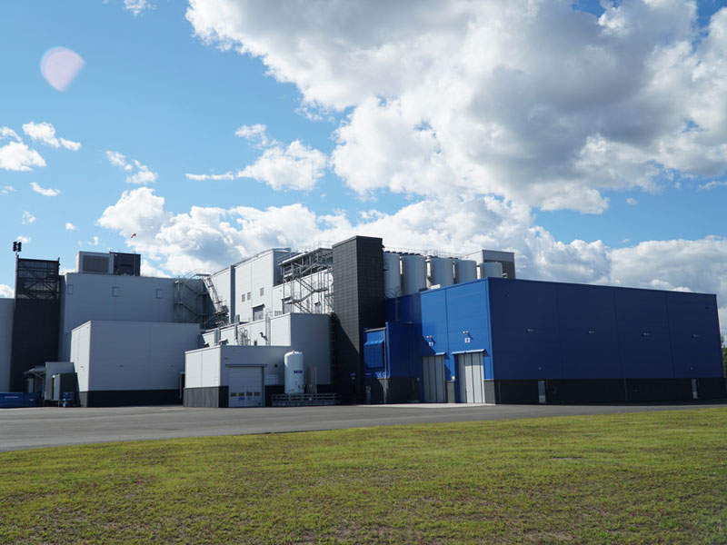 Valio's new plant will produce healthy and innovative snack products. Image courtesy of Valio.