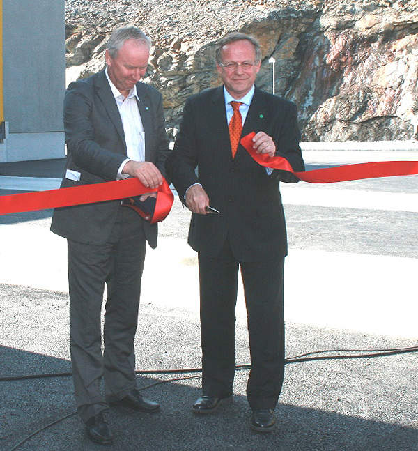The Norwegian slaughterhouse was officially opened in August 2010. Image courtesy of Nortura SA.