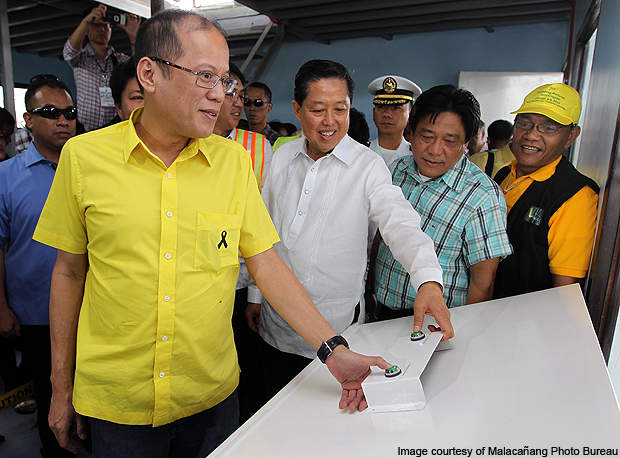 The new facility was inaugurated by President Benigno Aquino III.