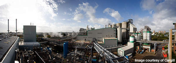 The conversion of the Cargill plant took just over a year to complete.