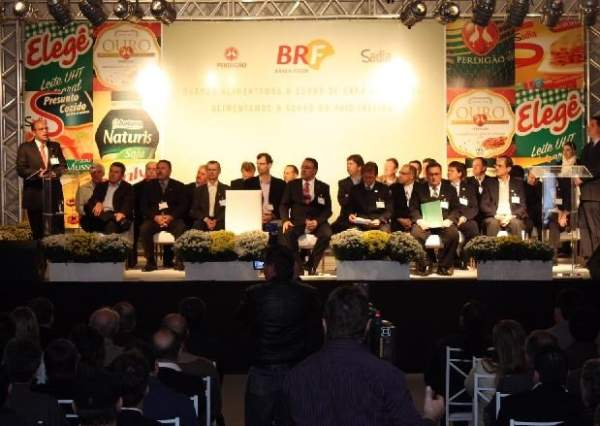 Inauguration ceremony of the plant in September 2011. Image courtesy of Copercampos.