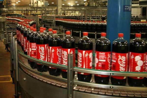 CCE Wakefield boasts the fastest 2l bottle production line in the world.