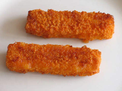 The other great Birds Eye favourite is the fish finger, which is produced at Lowestoft, where the peas are packaged.
