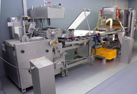 Fish processing bread coating equipment.