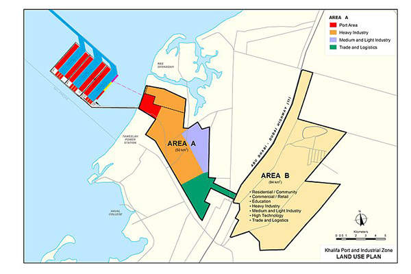 The facility is located in the Kizad industrial zone. Image: courtesy of Kizad.