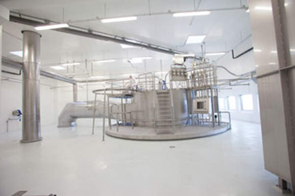 The expanded whey processing plant has an extra spray-drying facility. Image courtesy of Arla Foods Ingredients Group P/S.