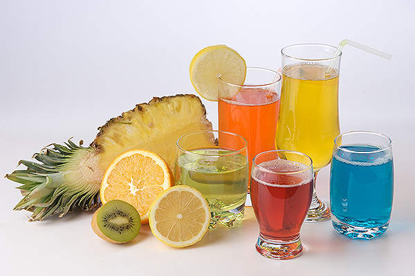 Peazazz can be used in variety of low pH beverages.