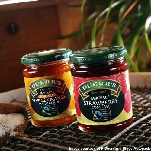 F Duerr is one of the best-known UK brands for preserves.