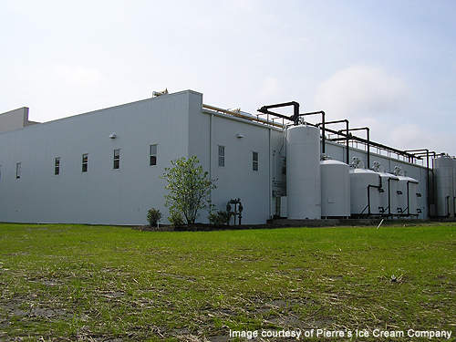 By establishing a new plant in the same location, Pierre's has secured the jobs of its employees working at the closed down factory.