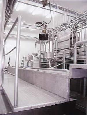 Processing equipment at the Dakota plant.