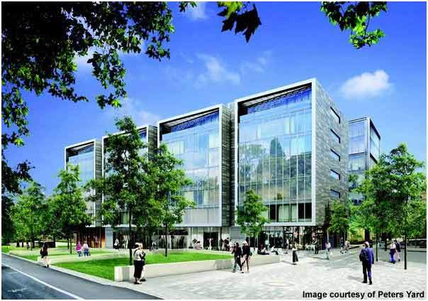 The Quartermile will eventually have 900 apartments and also offices.