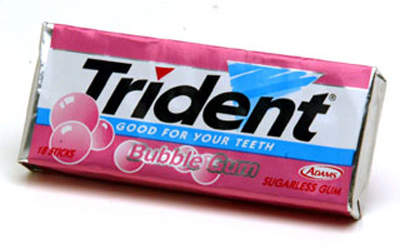 Trident gum is one of the major brands produced at the new plant.