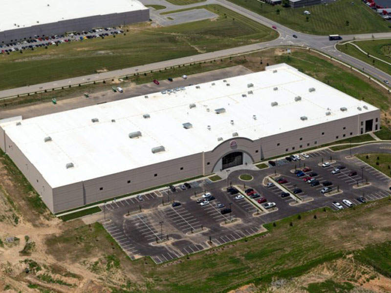 The 200,000ft² allergy-friendly bakery is located in Jeffersonville, Indiana, US. Image courtesy of Enjoy Life Foods.