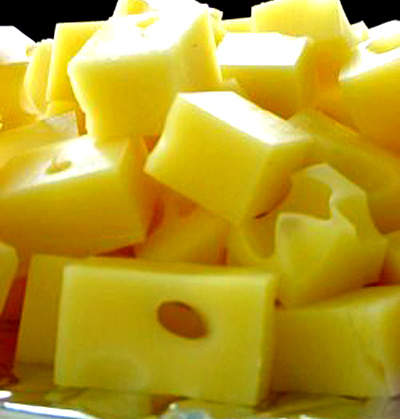 Gooding produces 360 million lb of cheese annually; the most popular products include cheddar, mozzarella, Monterey Jack, Swiss, Colby, Colby Jack and Pepper Jack.