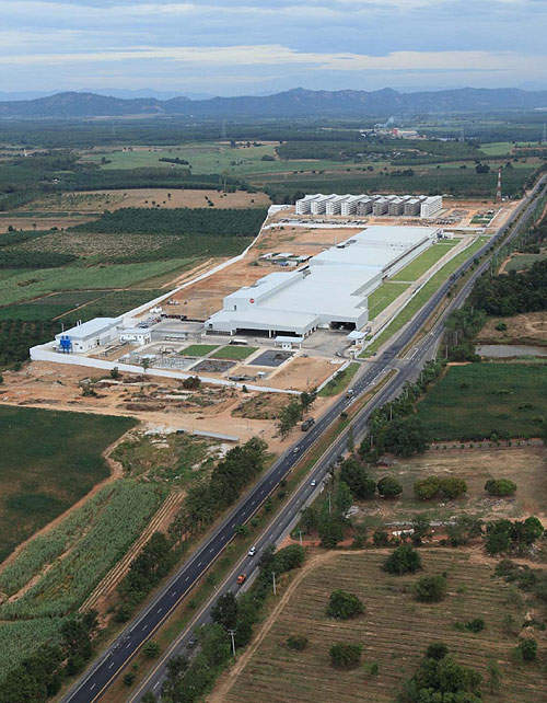 Unexpected rises in construction and labour costs pushed the total investment needed to complete the plant up to THB2.25bn.