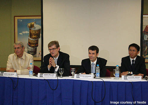 Chairman and CEO John Miller announced Nestle's plans to build the new plant in the Philippines in July 2010.